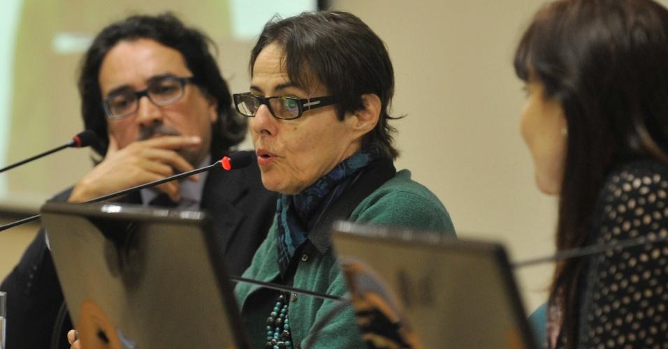 """27.ago.2012 - A ministra da Cultura, Ana de Hollanda, abre oficina com representantes dos diversos segmentos da chamada """"economia criativa"""""""