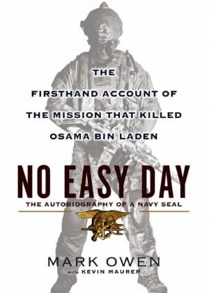 """Capa do livro """"No Easy Day"""" - Reprodução"""
