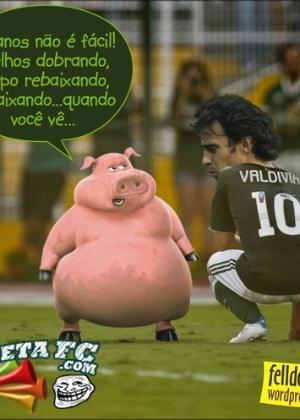 Corneta FC: A idade pesa, amigo!