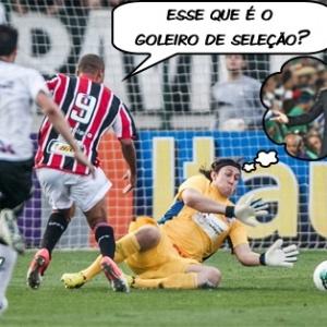 Corneta FC: Então esse aí é o goleiro da seleção?