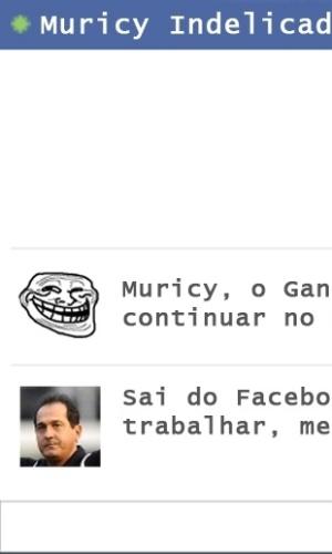 Corneta FC: Pioneiro em patadas, Muricy entra na moda indelicada do Facebook