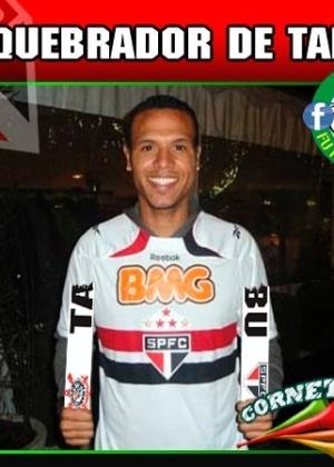 Corneta FC: Tabu é para ser quebrado, fala aí, Luís Fabiano!