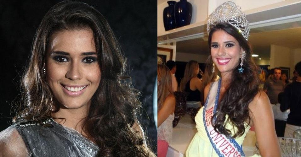 Miss Bahia, Bruna Diniz, 21, 1,79, representou Santaluz