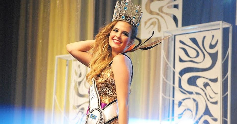 Miss Pernambuco, Paula Lück, 19, 1,80 m, representou Jaboatão dos Guararapes