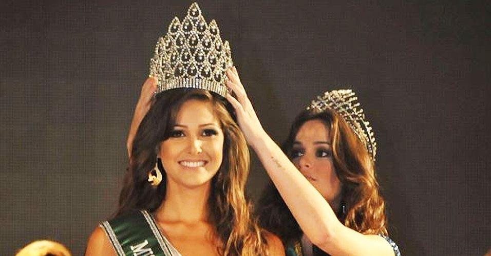 Miss Rio Grande do Norte, Kelly Fonseca, 23, 1,80 m, representou Guamaré