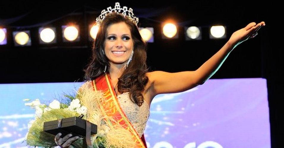 Miss Rio Grande do Sul, Gabriela Markus, 23, 1,80 m, representou Teutônia