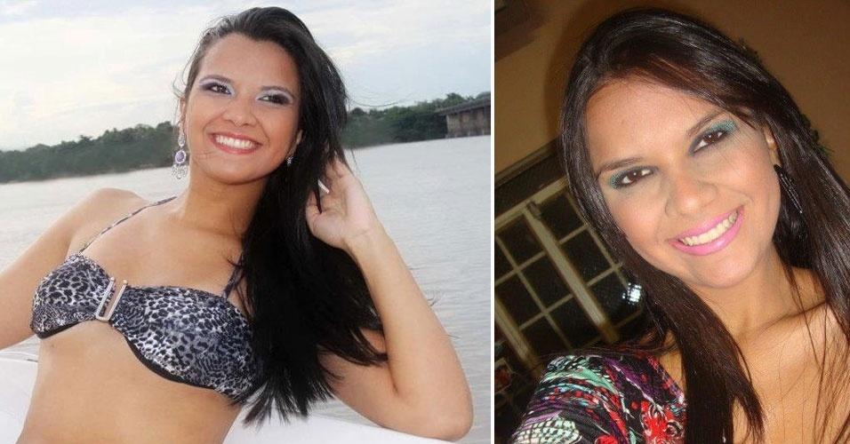 Miss Roraima, Mayara Cardoso Lopes, 19, 1,75 m, representou Boa Vista