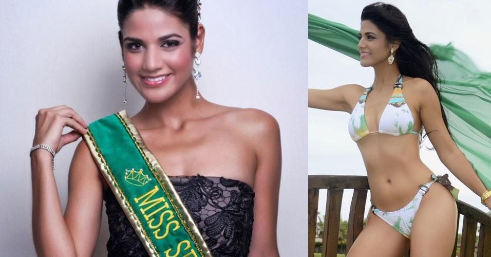 Miss Sergipe, Evlen Fontes, 19, 1,75 m, representou Tobias Barreto