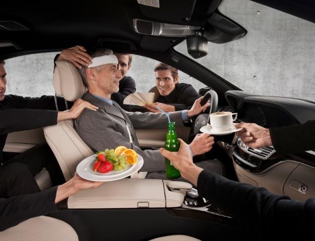 Motoristas relaxados podem tomar decisões corretas em situações de risco - Divulgação
