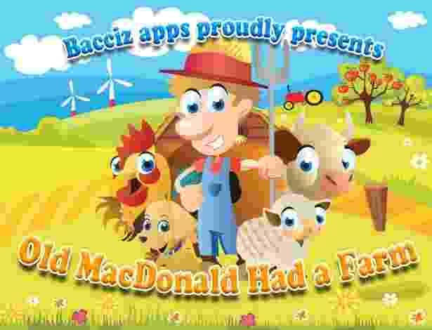 Dois a três anos: Old Mac Donald Had a Farm:  - Divulgação