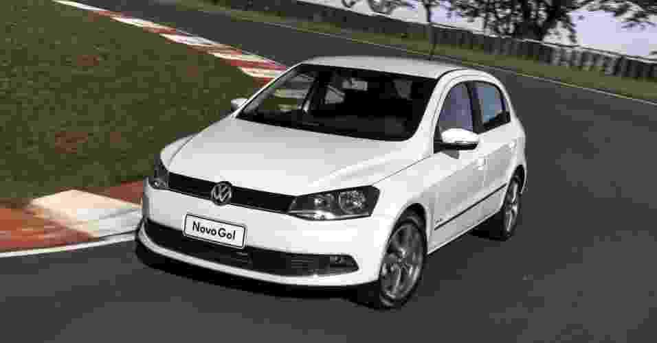 Volkswagen Gol: 90.941 unidades. Com redução, parte de R$ 24.291 (G4) e R$ 27.990 (G5). Dados fechados da Fenabrave de maio à primeira quinzena de agosto de 2012 - Divulgação