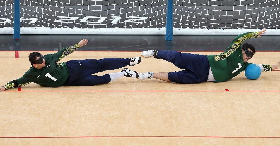 Brasil venceu a Finlândia na estreia do Goalball dos Jogos Paraolímpicos de Londres por 6 a 5