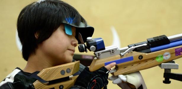 Chinesa Cuiping Zhang conquistou a primeira medalha de ouro dos Jogos de Londres