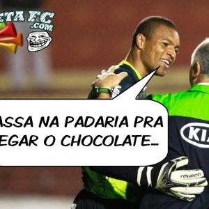 Corneta FC: Dida aproveitou para dar orientações a Felipão