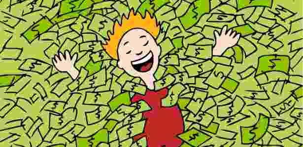 """""""O dinheiro não é o fator mais importante para se ter felicidade, e super valorizá-lo pode até trazer o inverso"""", diz o Robert Biswas-Diener, diretor do centro de psicologia positiva Positive Acorn, no Oregon - Thinkstock"""