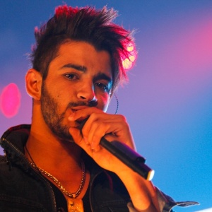 Gusttavo Lima se apresentou na noite desta quarta-feira (29), na Villa Mix, em São Paulo (29/8/12)