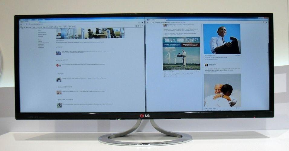 Sabe quando você abre aquela planilha imensa na horizontal no Excel e pensa ?Ah, se meu monitor fosse tão comprido quando essa tabela...?. Com 29 polegadas, o monitor EA93 de 2560 x 1080 pixels resolve esse tipo de problema de visualização, pois é ?super wide? ou ultra largo