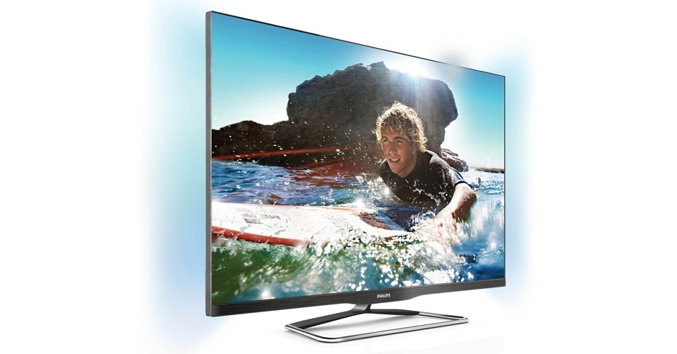 TV 3D de LED da série 6900, da Philips
