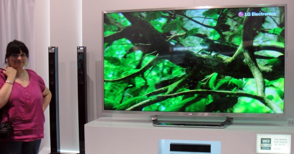 TV 3D UD da LG