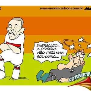 Corneta FC: A estrela era solitária...
