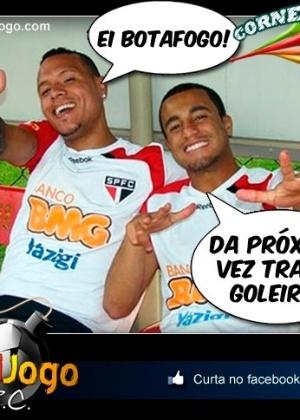 Corneta FC: Recadinho do Lucas e do LF9 para o Botafogo