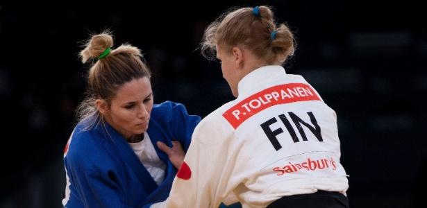 Judoca brasileira Daniele Bernardes conquistou sua terceira medalha de bronze paraolímpica