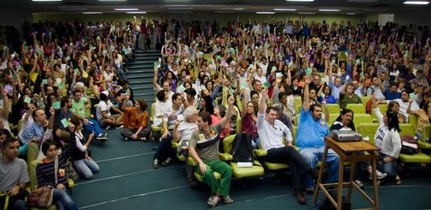 Os professores da UFRJ decidiram nesta sexta-feira (31) encerrar a greve de mais de cem dias - ADUFRJ
