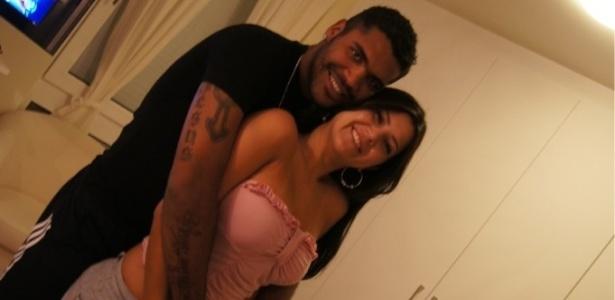 Breno e sua mulher, Renata Borges