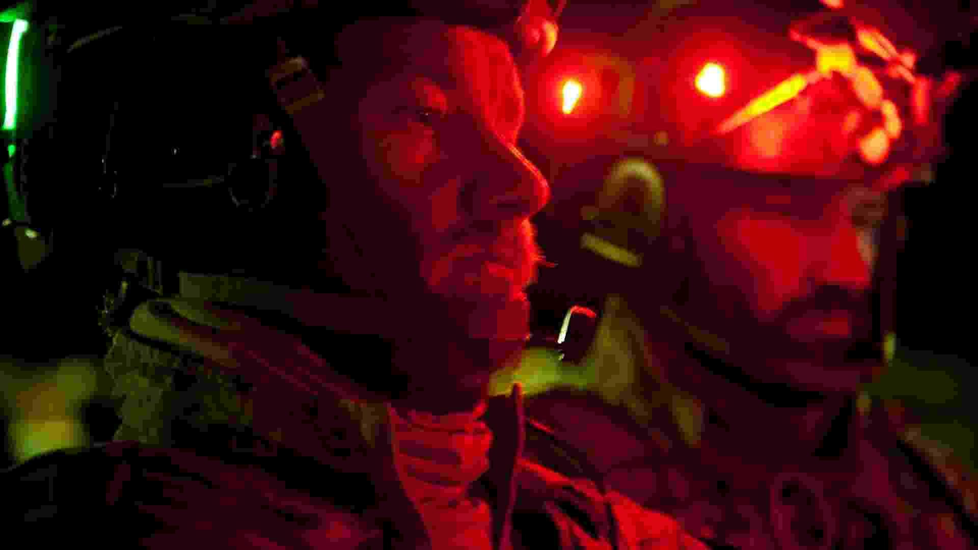 "Nash Edgerton (à esq) e Joel Edgerton em cena do filme ""A Hora Mais Escura"", de Kathryn Bigelow - Jonathan Olley/Columbia Pictures"