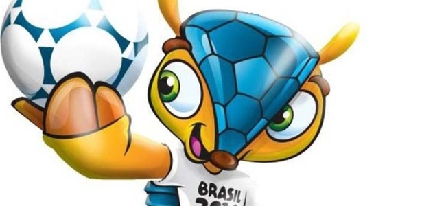 Fuleco, o tatu-bola mascote da Copa de 2014: aumentou o risco de extinção do mamífero