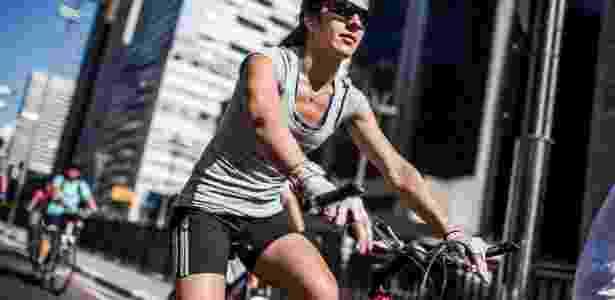Ciclofaixa em São Paulo: estudo vai mostrar os benefícios e os ricos de quem pedala pela cidade - Leonardo Soares/UOL