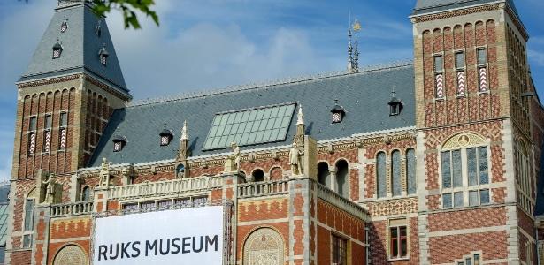 Fachada do Rijksmuseum, museu nacional dos Países Baixos, situado em Amsterdã (22/8/12) - EFE/Robin Van Lonkhuijsen