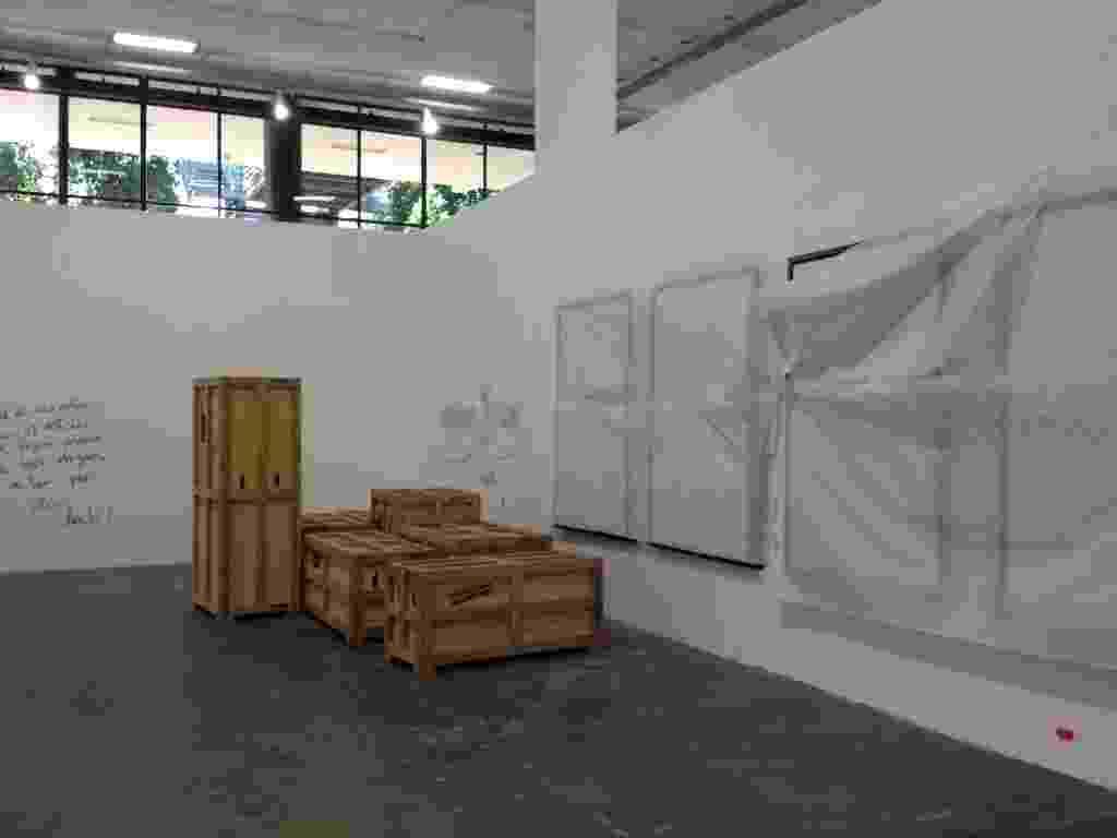 Instalação da 30ª Bienal de Arte de São Paulo sendo montada (3/9/12) - Estefani Medeiros/UOL
