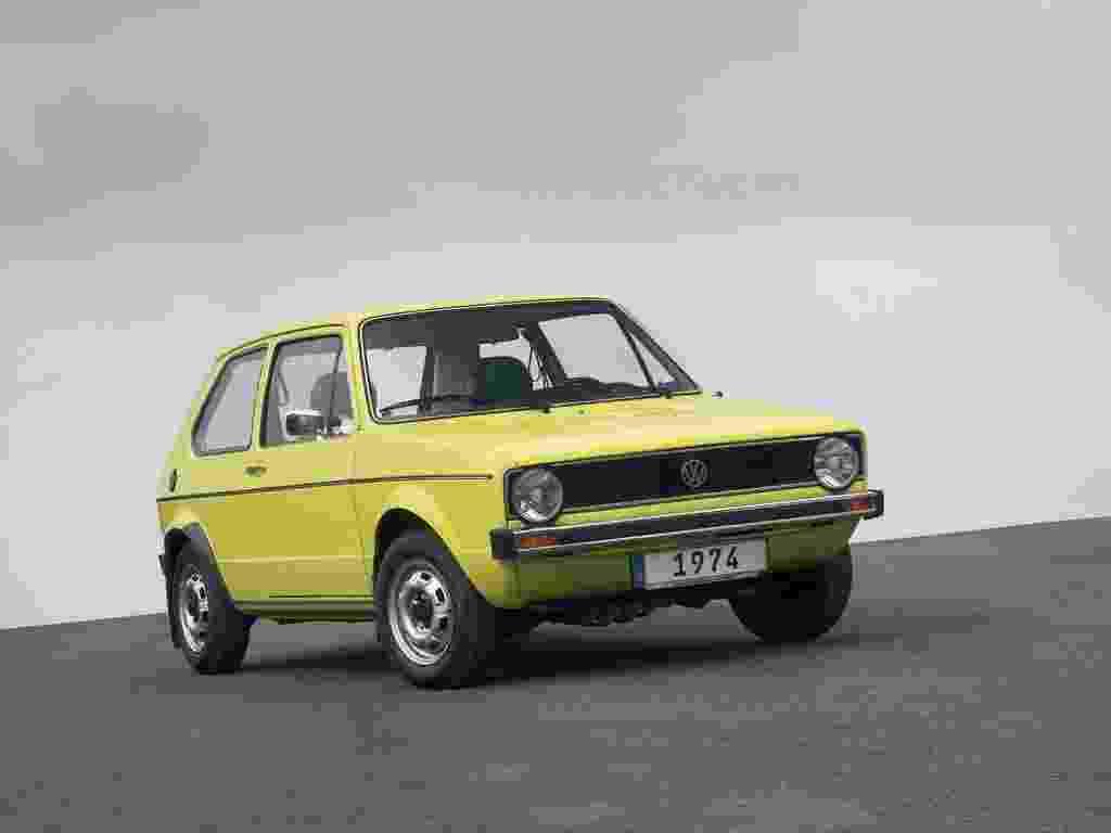 Nascido em 1974, o VW Golf foi chamado de Rabbit nos EUA e Canadá e de Caribe em países latinos - Divulgação