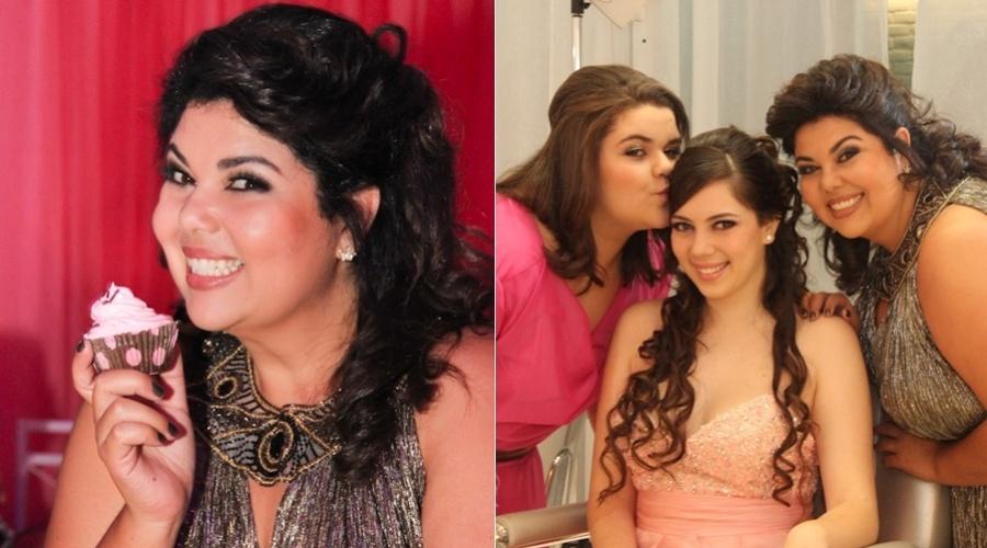 A atriz Fabiana Karla celebrou os 15 anos da filha Beatriz com uma festa em Recife no último final de semana (4/9/12)