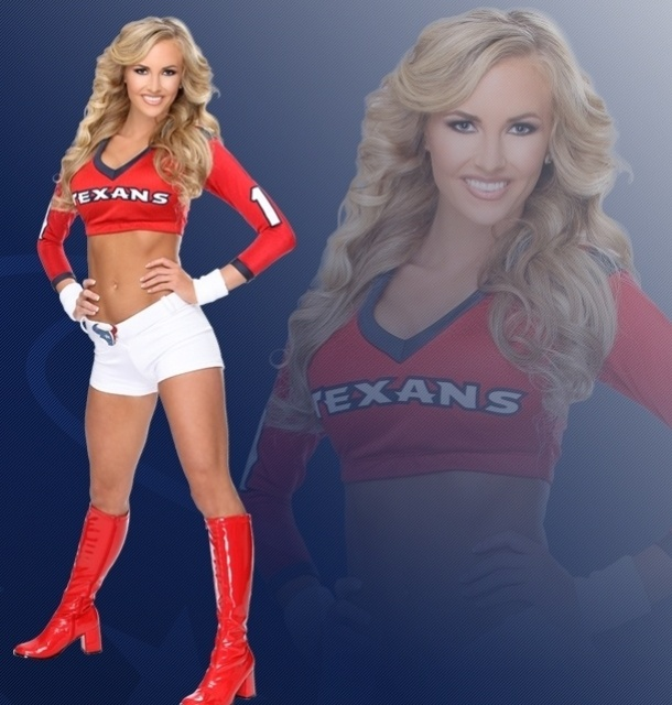 Annie, cheerleader do Houston Texans