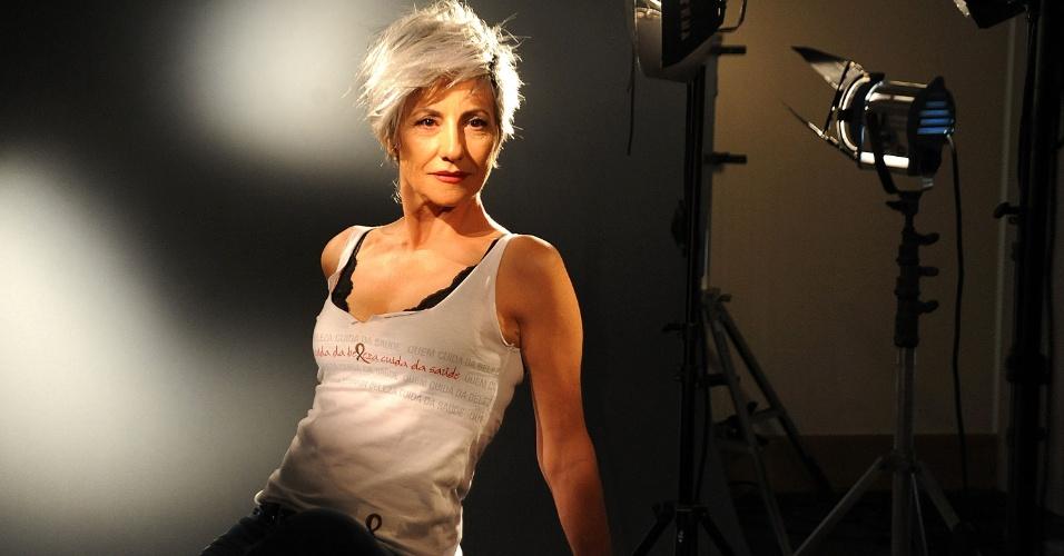 Cabeleireiros Contra Aids -. O cabeleireiro de Cássia Kiss foi Maurício Pina
