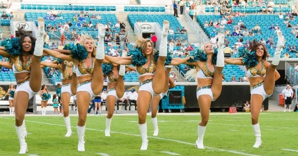 Cheerleaders do Jacksonville Jaguars