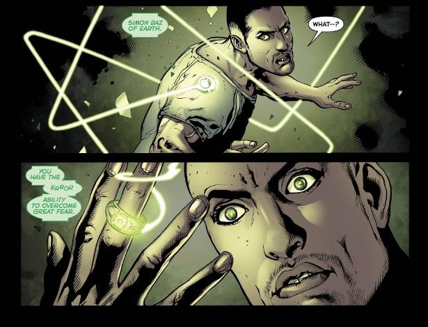 Simon Baz é o primeiro Lanterna Verde de ascendência árabe - AP