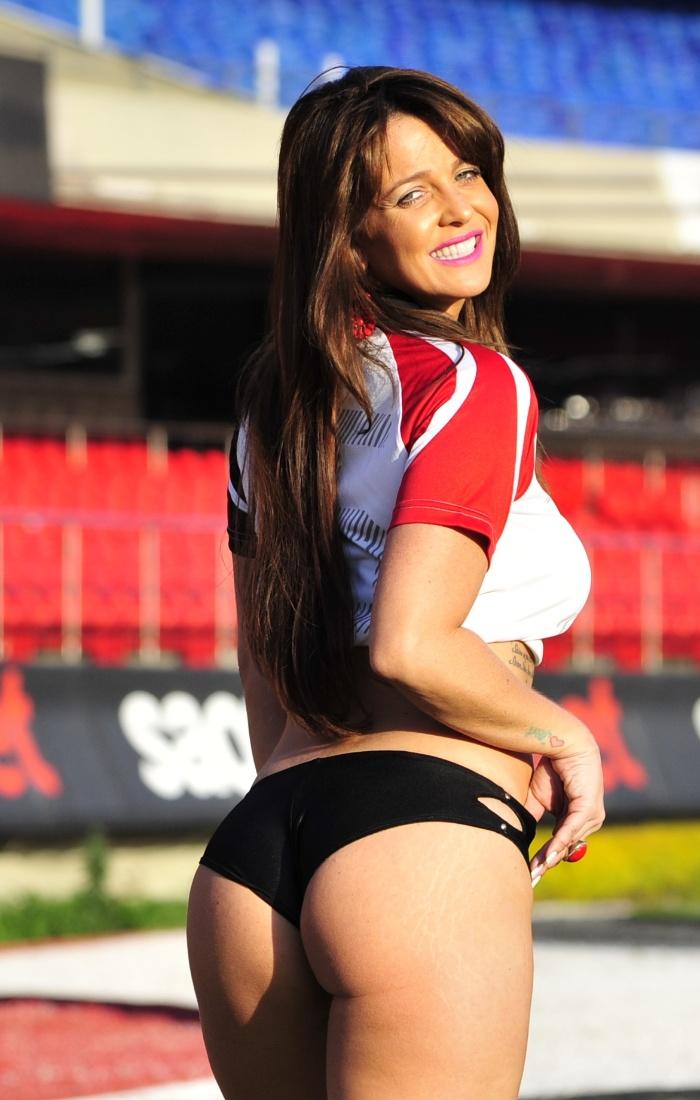 Ana Paula Saad, a bela do São Paulo