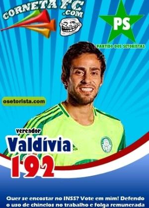 Corneta FC: Valdívia se candidata e promete folga remunerada para todos