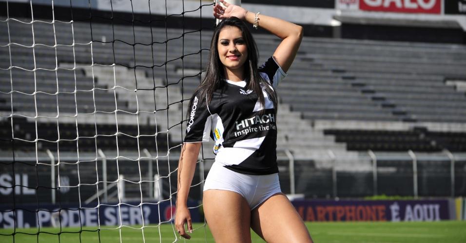 Natália Vaccari, a bela da Ponte Preta