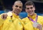André Brasil conquista terceiro ouro em Londres e país tem dobradinha no pódio dos 100 m S10 - Getty Images