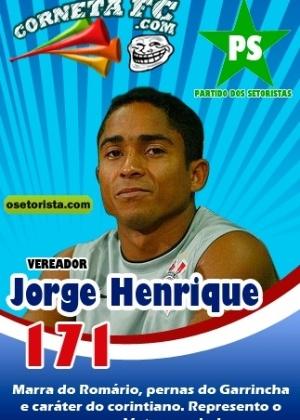 Corneta FC: Jorge Henrique: o candidato do povo?