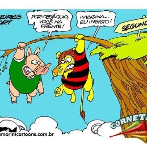 Corneta FC: Palmeiras e Sport trocam gentilezas à beira do abismo