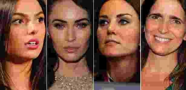 Além de emoldurar o olhar, o desenho das sobrancelhas pode dizer muito sobre sua personalidade; dizem especialistas - Divulgação/TV Globo, Getty Images e AgNews