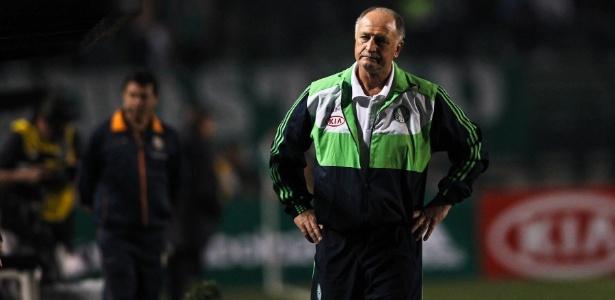Novo técnico do Palmeiras, Felipão encontrou ambiente conturbado no clube entre 2010 e 2012 - Leandro Moraes/UOL