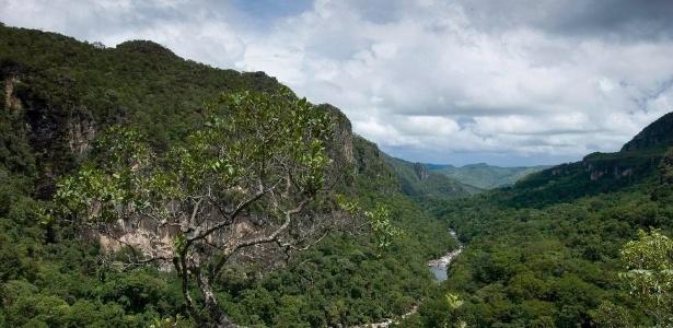 Parque Nacional Chapada dos Veadeiros, em Goiás