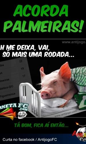Corneta FC: Acorda, Palmeiras