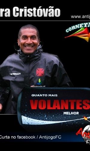 Corneta FC: Cristóvão também entrou na onde do